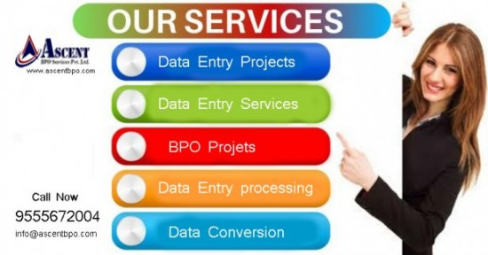Data Entry Projects Outsourcing Company India