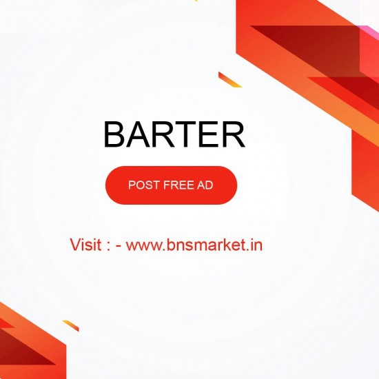 Exchange Your Products on bnsmarket Post free Ad