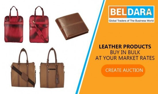 Leather products buy in bulk at your market rate on beldara