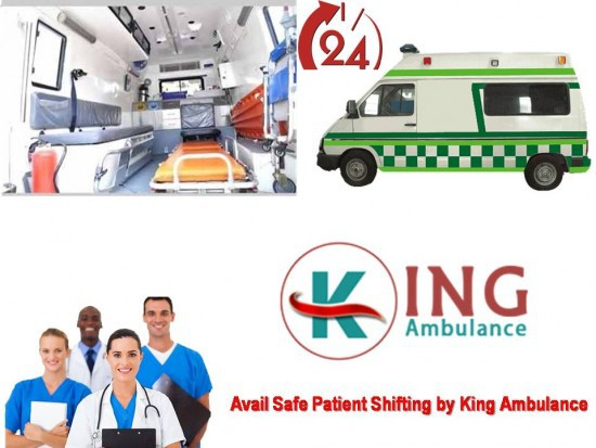 Book King Ambulance Service in Purnia With Emergency Facility