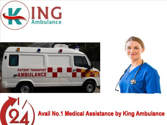 King Ambulance Service in Gaya with Exceptional Medical Support