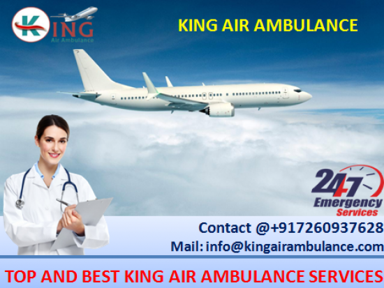 Most Prominent Air Ambulance in Allahabad with Doctor-King Ambulance