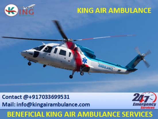 Emergency Air Ambulance Service in Kolkata with all Medical Amenities